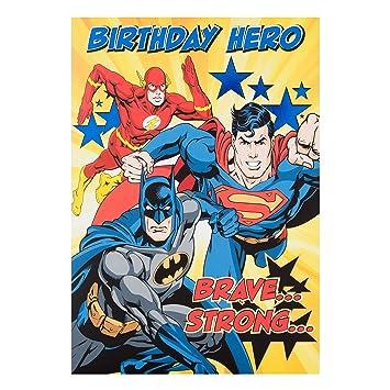 Tarjeta cumpleaños «Lleno de acción» Hallmark Warner ...