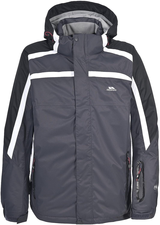 b62c6db69 Trespass Mens Coalmont Padded Waterproof Winter Ski Jacket (XXL) (Flint):  Amazon.co.uk: Clothing
