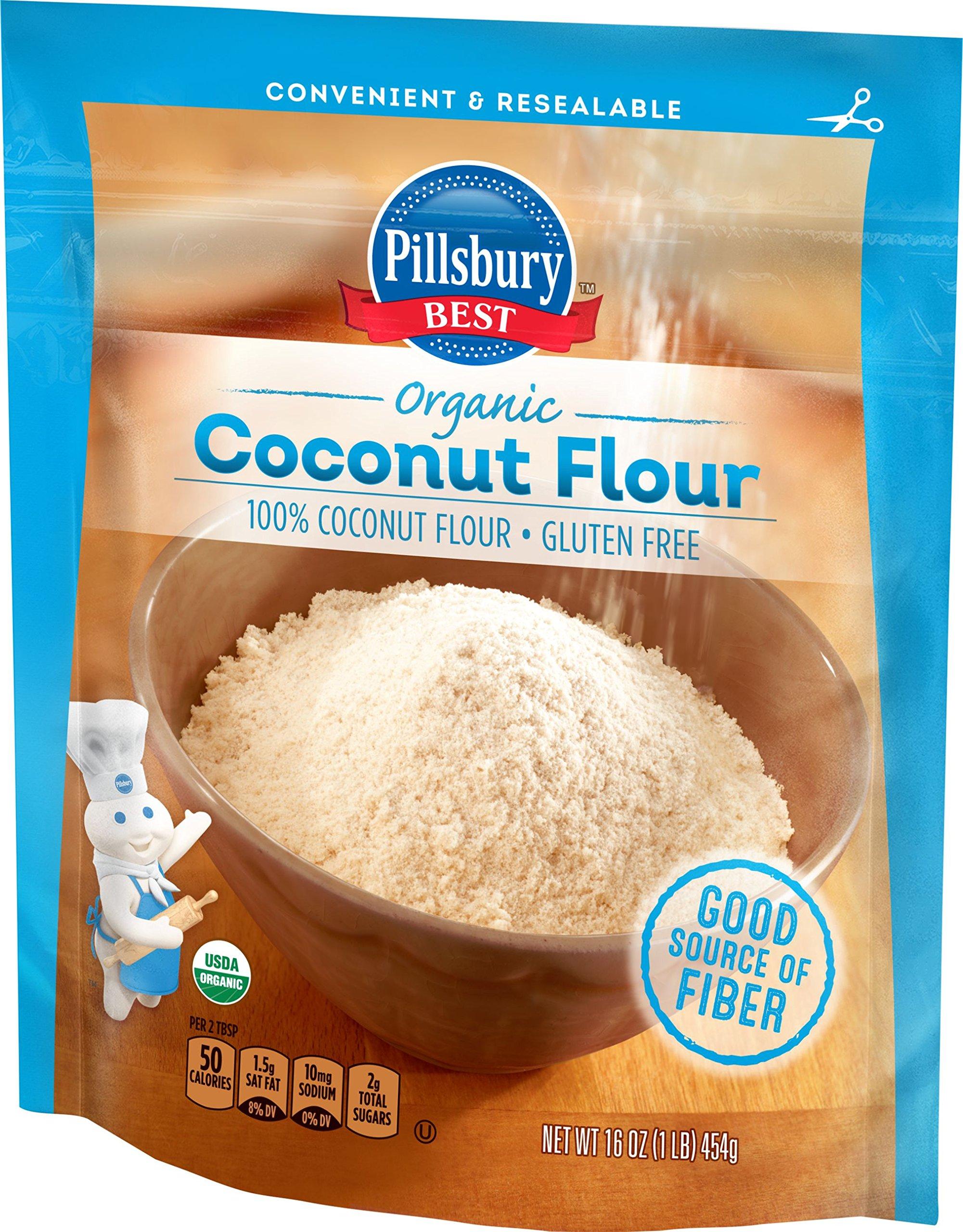 Pillsbury BEST Organic Flour, Coconut, 16 Ounce by Pillsbury BEST