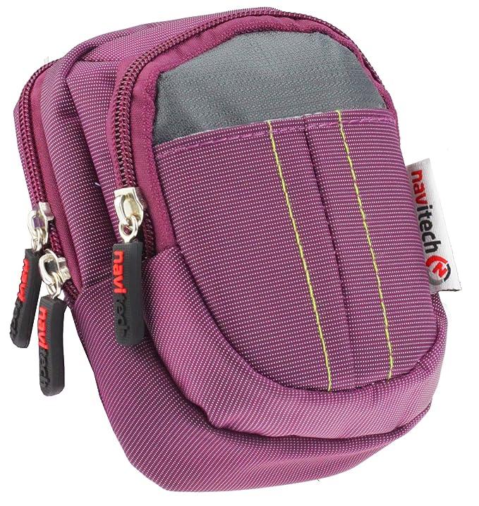 Amazon.com: Navitech Purple Carry Case Bag for The Casio ...