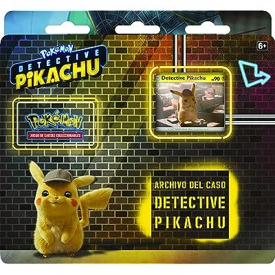 Pokemon JCC - Archivo del caso de Detective Pikachu (Asmodee, POTK1901): Juguetes y juegos