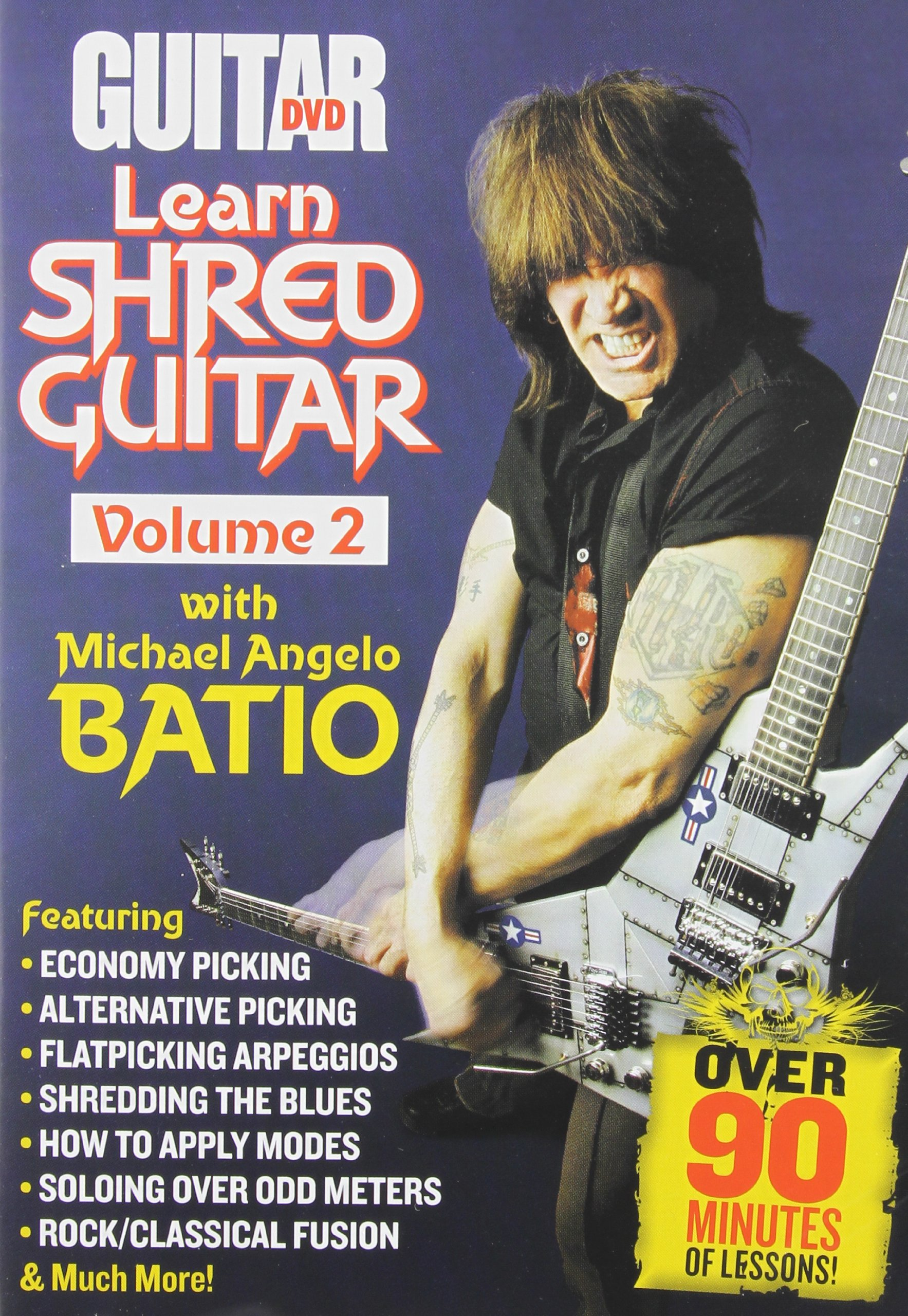 DVD : Michael Angelo Batio - Guitar World: Learn Shred Guitar 2 (DVD)