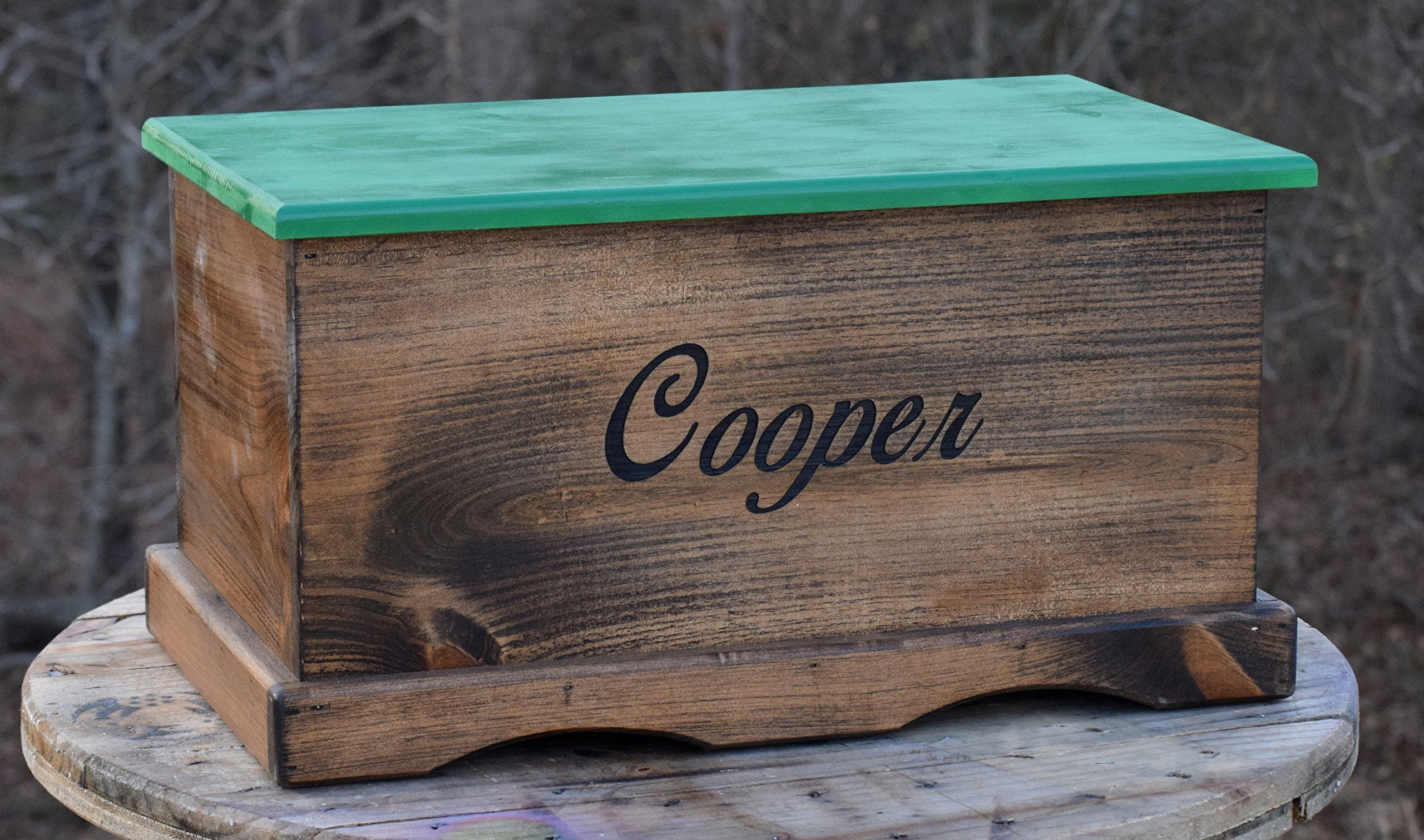 Laser Engraved Personalized Kids Toy Box - Engraved Toy Box - Personalized Toy Box - Children's Toy Box - Kids Memory Box - Gift for Kids