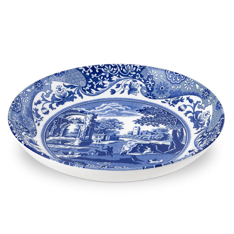 sc 1 st  Amazon.com & Amazon.com: Spode Blue Italian Pasta Bowl Set of 4: Kitchen \u0026 Dining