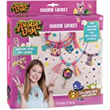 Make It Real – Animal Jam Charm Locket. DIY Animal Jam Themed Locket and Charms Jewelry Making Kit for Girls. Design and Craft Animal Jam Floating Charm Locket Necklace and Charm Bracelets