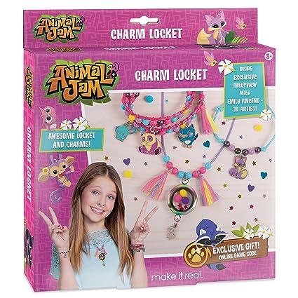 Make It Real Animal Jam Charm Locket DIY Themed And Charms