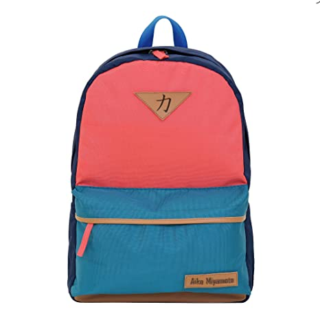 af60805b2058 Aiko Miyamoto 25 ltrs. Pink Waterproof Backpack with Laptop Compartment   Amazon.in  Bags