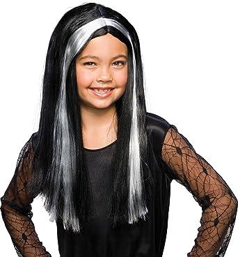 New Children Black Witch Wigs