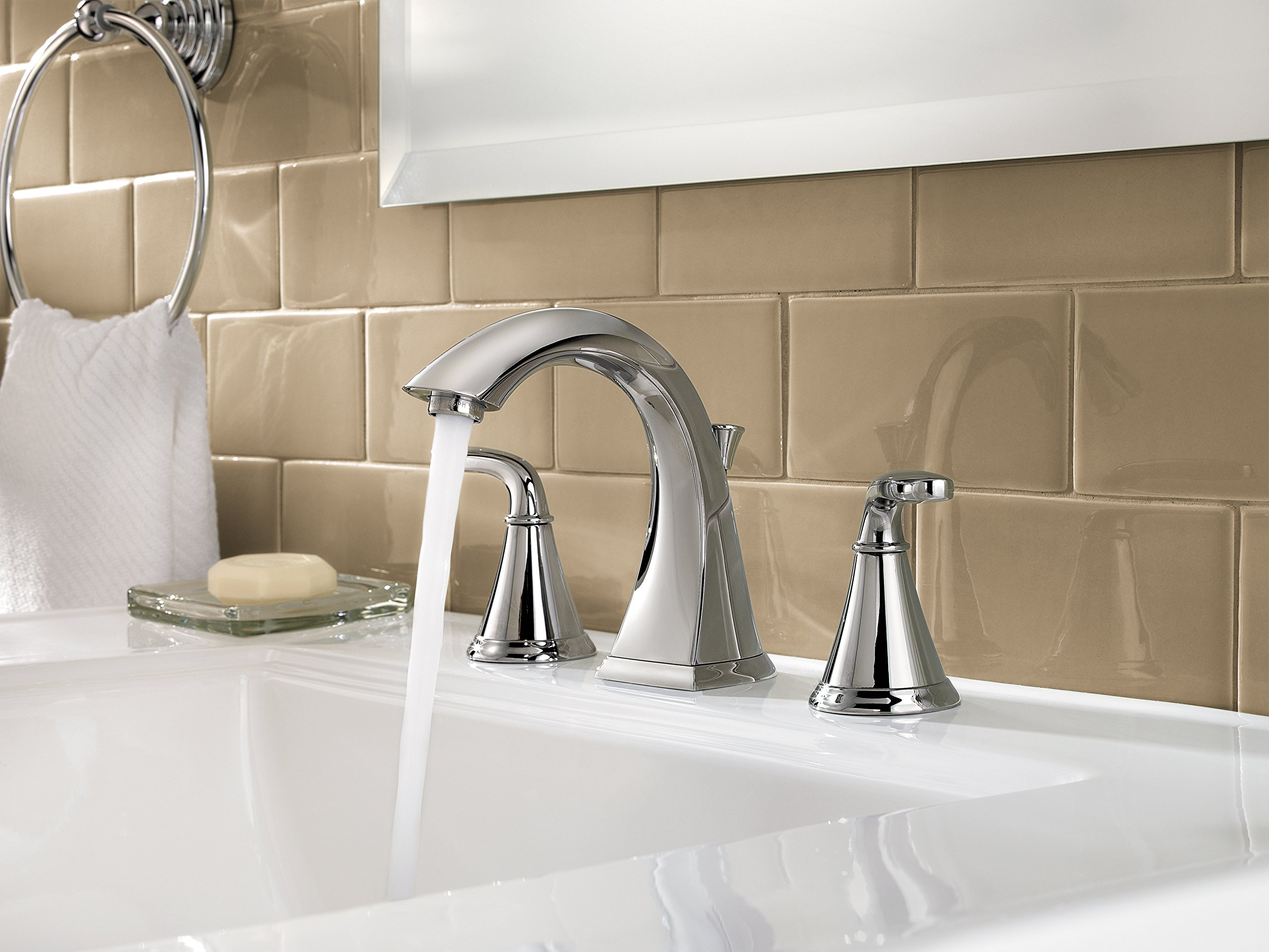 Pfister LF049PDCC Pasadena 2 Handle 8 Inch Widespread Bathroom Faucet in Polished Chrome by Pfister (Image #3)