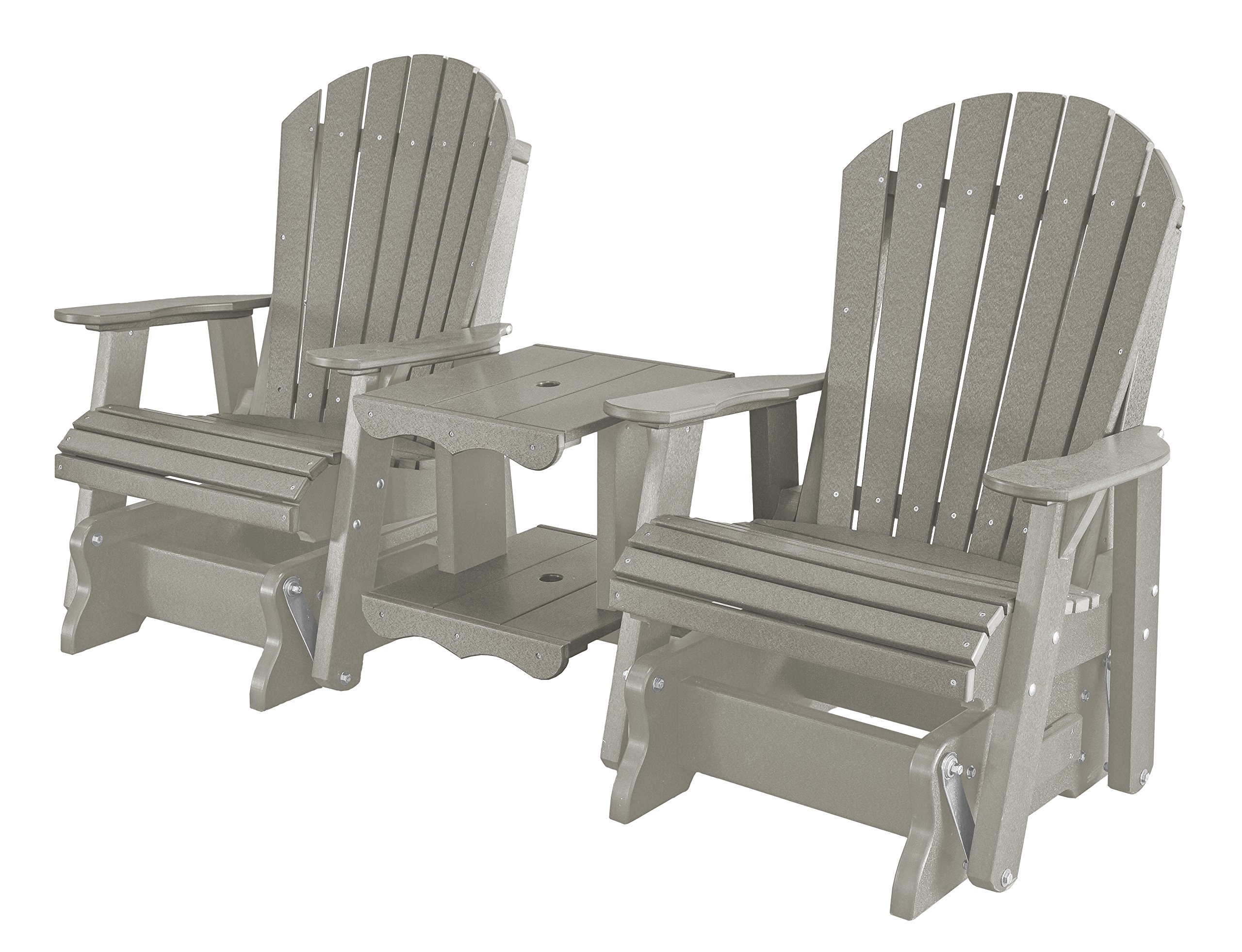 Little Cottage Company Heritage Double Rock-a-tee, Light Gray