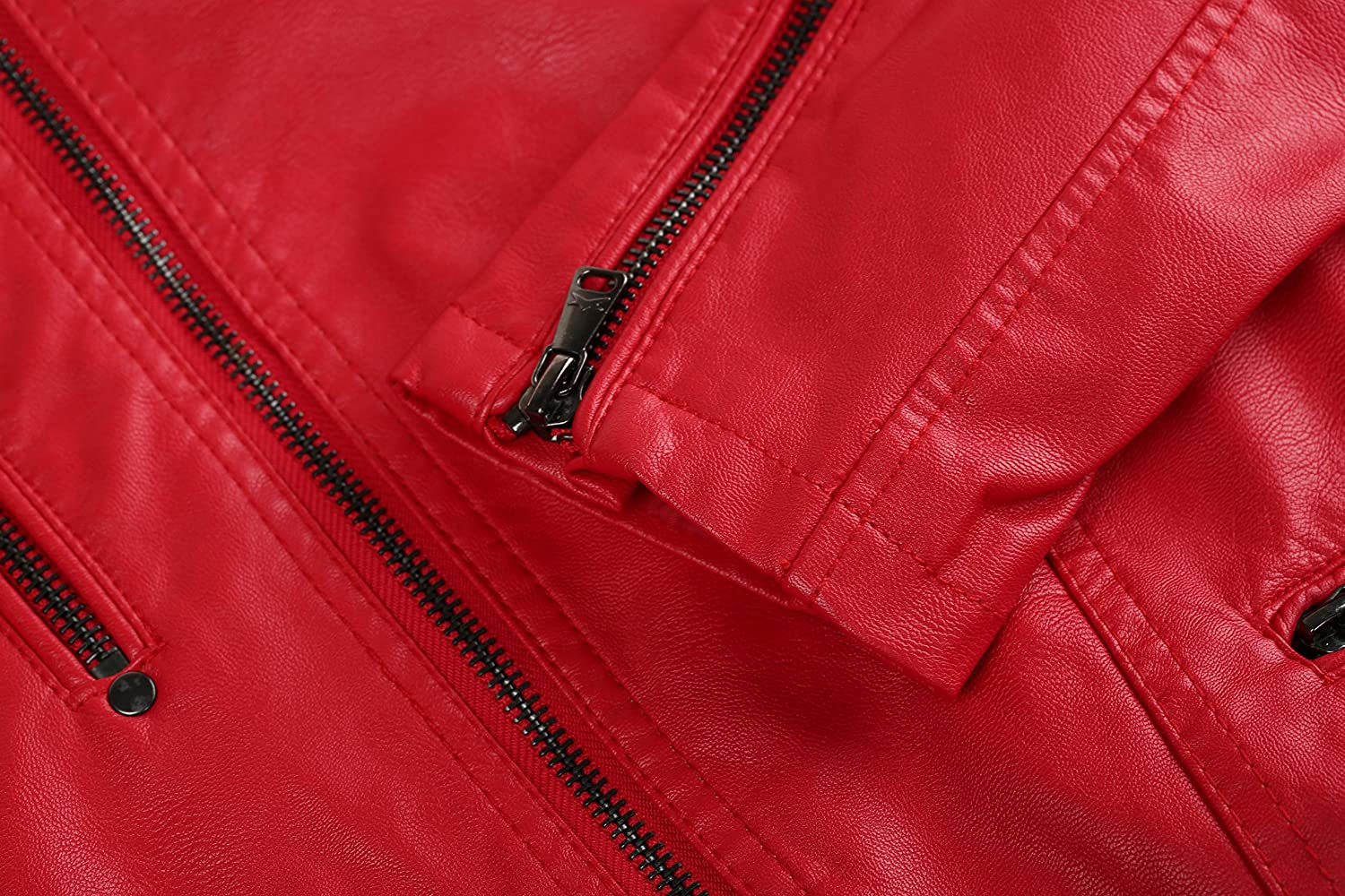 The Twins Dream Girls Faux Leather Jacket PU Casual Outwear Red Casual Coat For New Autumn Spring 2-10y