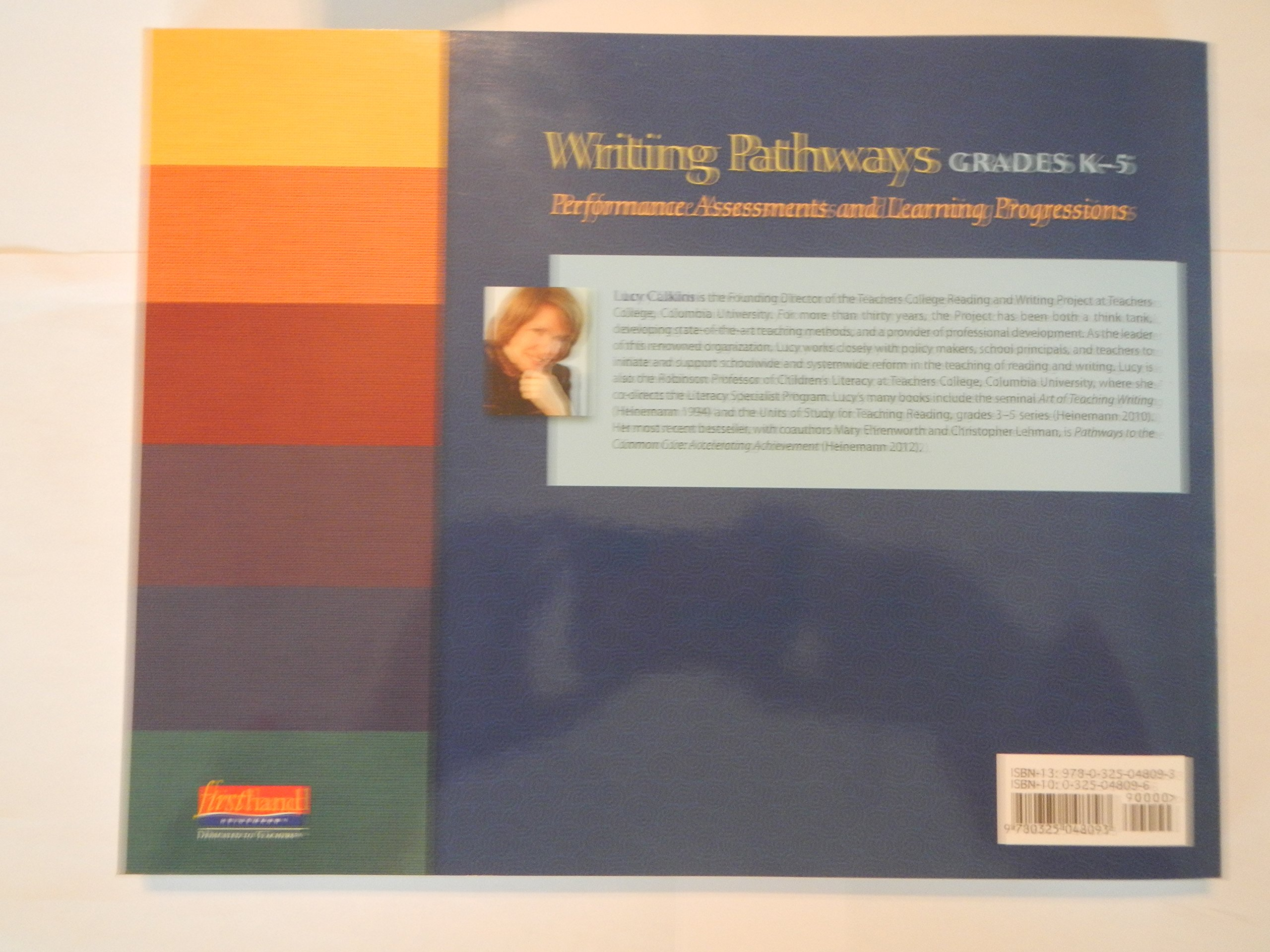 Writing Pathways Performance Assessments and Learning Progressions, K-5 by  Lucy Calkins (2013-11-05): Lucy Calkins: 9780325048093: Books - Amazon.ca