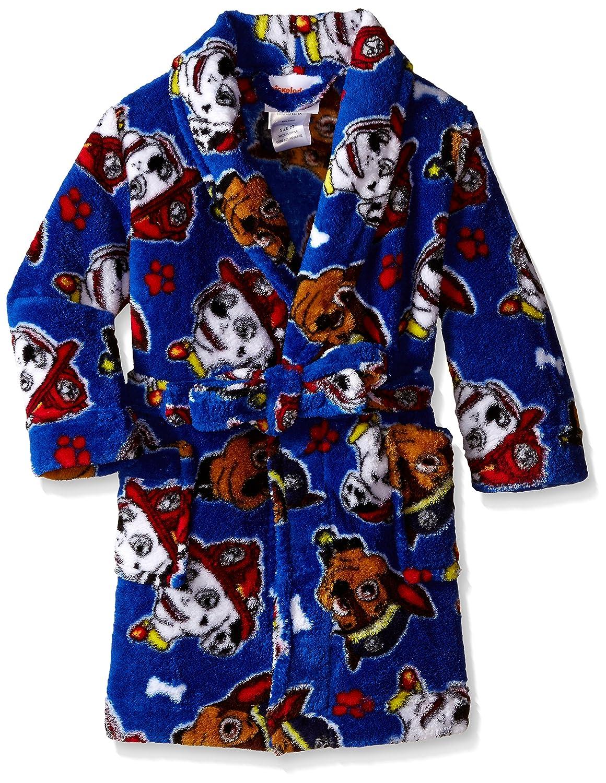 Nickelodeon PAW Patrol Little Boys' Safety Paw'Trol Plush Character Robe Blue 2T AME Sleepwear Boys 2-7 TBSP3711