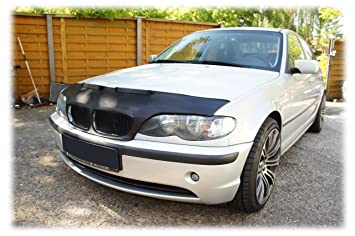 HOOD BRA Front End Nose Mask for BMW 3 E46 1998-2007 Bonnet Bra STONEGUARD  PROTECTOR TUNING