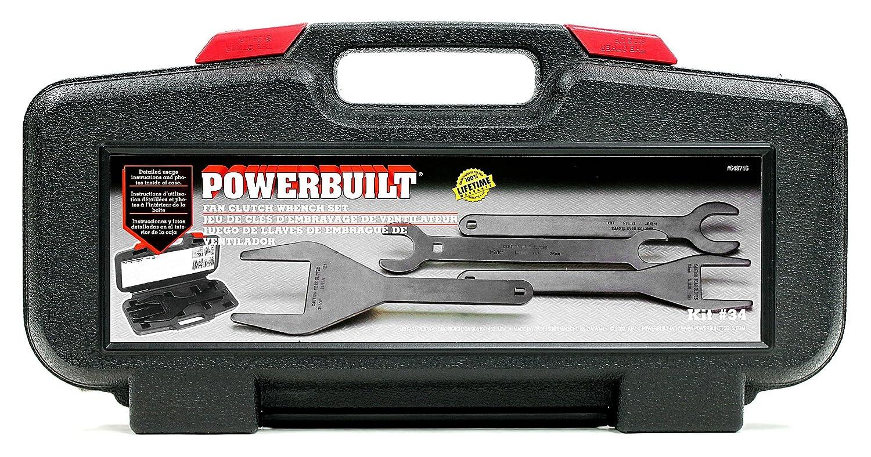 Amazon.com: Powerbuilt Fan Clutch Wrench Kit 4 pc Set - 648746: Home Improvement