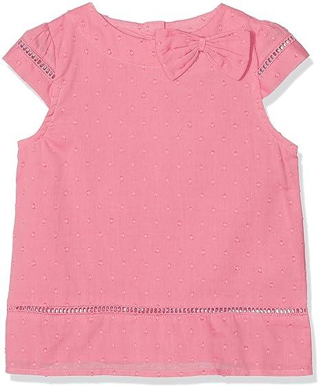Kite Bow Blouse, Blusa para Niñas, Rosa Pink, 9 años
