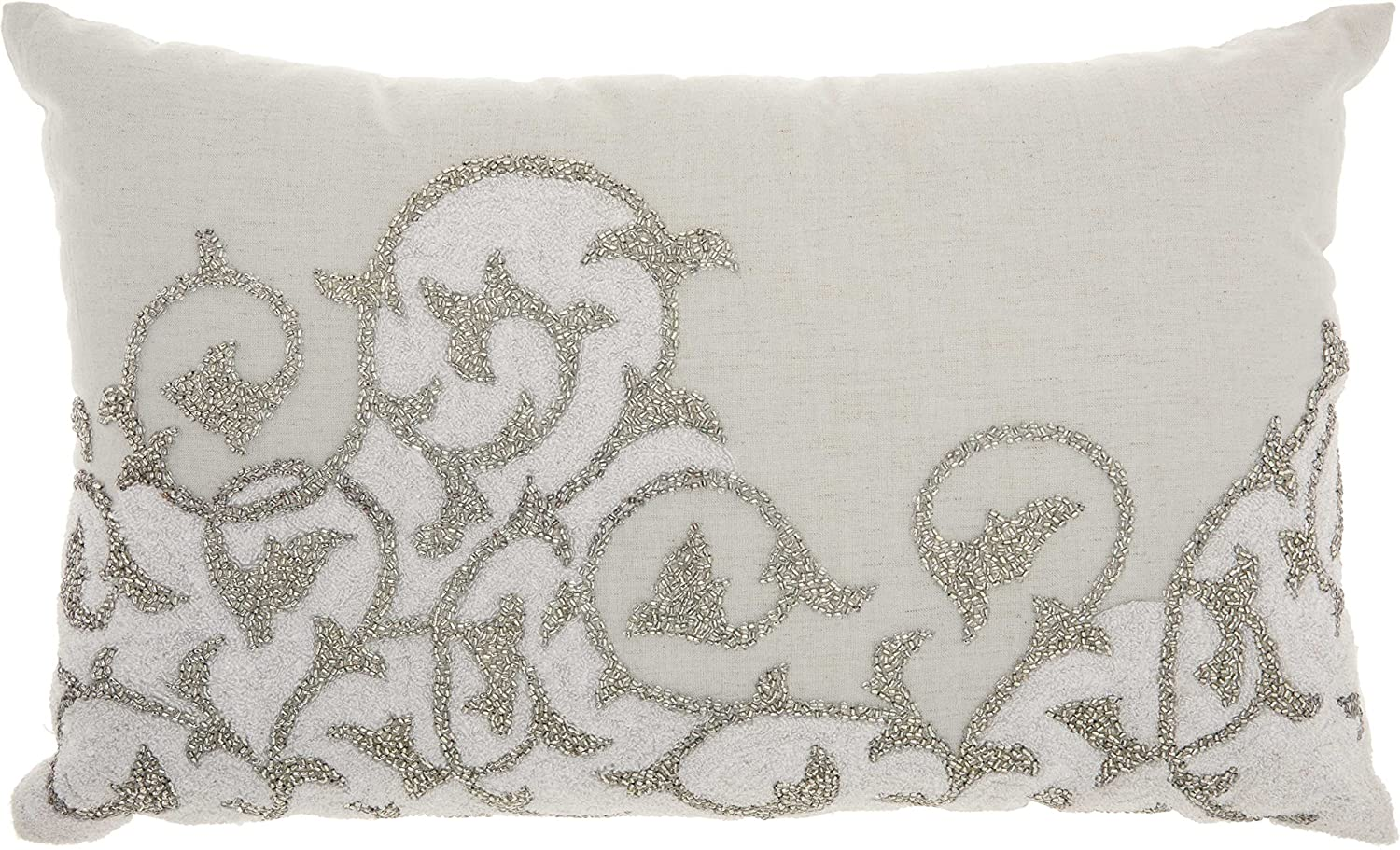 Amazon.com: Nourison Mina Victory CR343 Couture Luster Towel ...