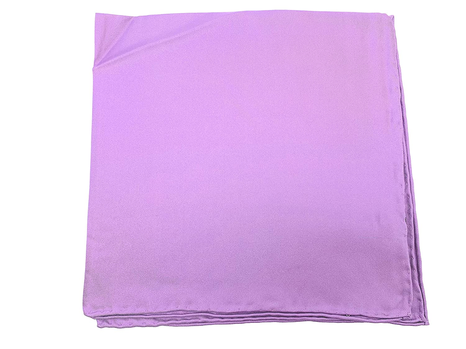 17 Lavender Pocket Squares Pure Silk Full Size