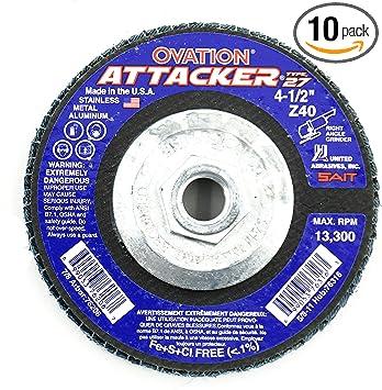 6 United Abrasives-SAIT 36328 400X 6S Hook and Loop Disc