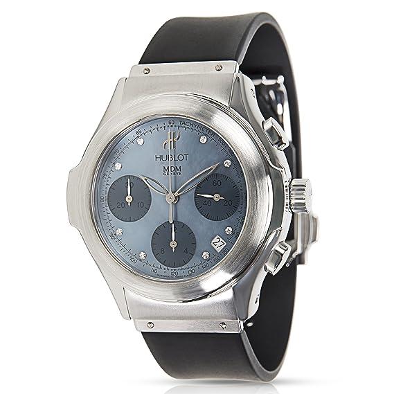 Hublot elegante Chrono 1810.10 reloj para hombre en acero inoxidable (Certificado) de segunda mano: Hublot: Amazon.es: Relojes
