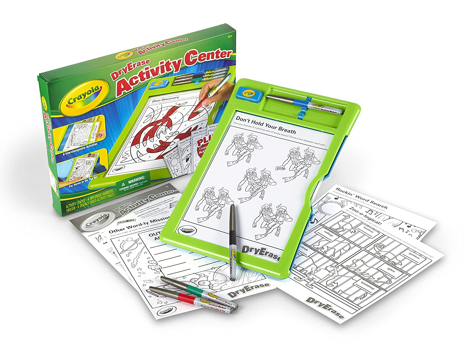 Crayola Dry Erase Activity Center by Crayola: Amazon.es ...