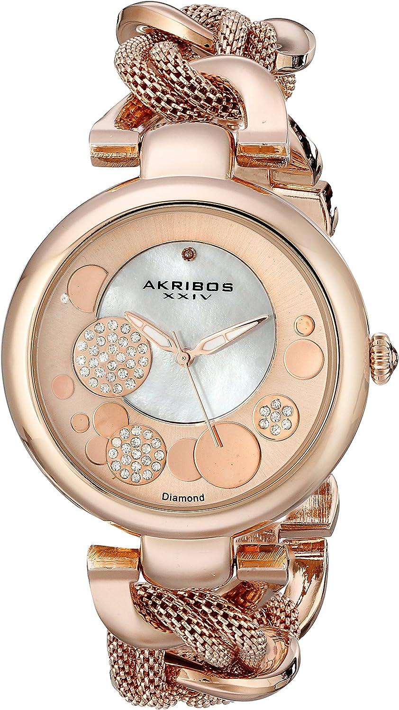 Akribos XXIV AK643RG - Reloj para Mujeres