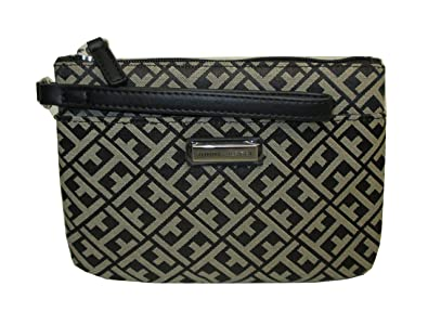 Tommy Hilfiger Womens Wristlet 2 Pocket Clutch Zip Close Wallet Everyday New Nwt