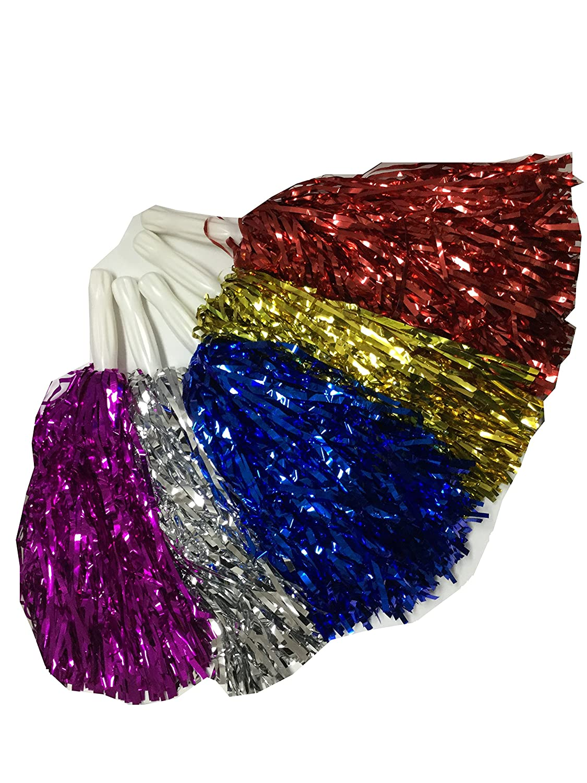 Cheerleader-Pompons (Gold) Karnevalsteufel