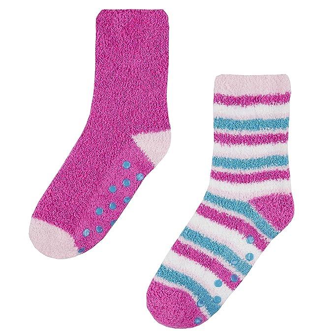 0f64d9a32ccbea Street Essentials Slipper-Socken für Mädchen, kuschelig und ...