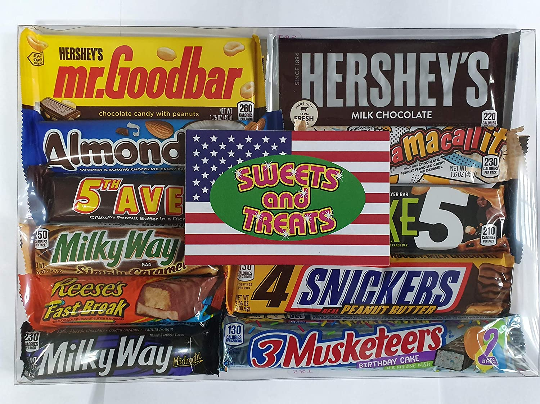 American Chocolate Bar Selection Gift Box
