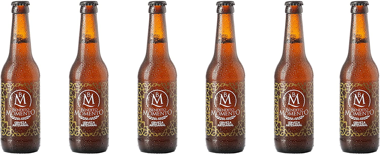 Pack 6 Cervezas artesanal Bendito Momento 33 cl