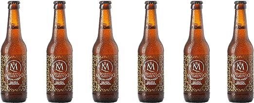 Pack 6 Cervezas artesanal Bendito Momento 33 cl: Amazon.es ...