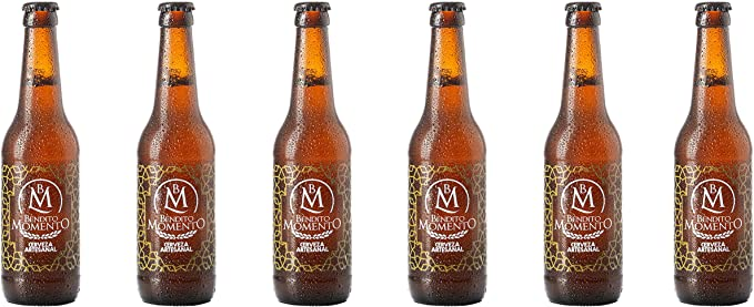 Pack 6 Cervezas artesanal Bendito Momento 33 cl: Amazon.es ...