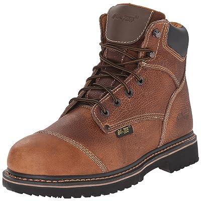 AdTec Men's 6-Inch Comfort Work Boot: Shoes