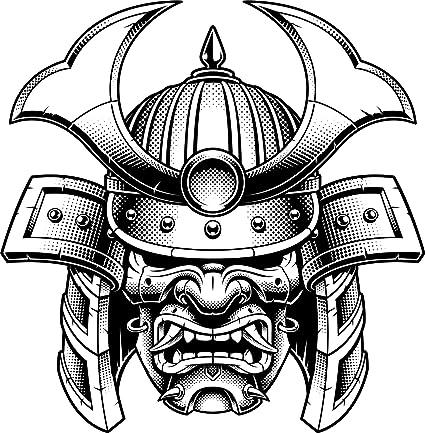 helmet: samurai helmet artwork  helmet