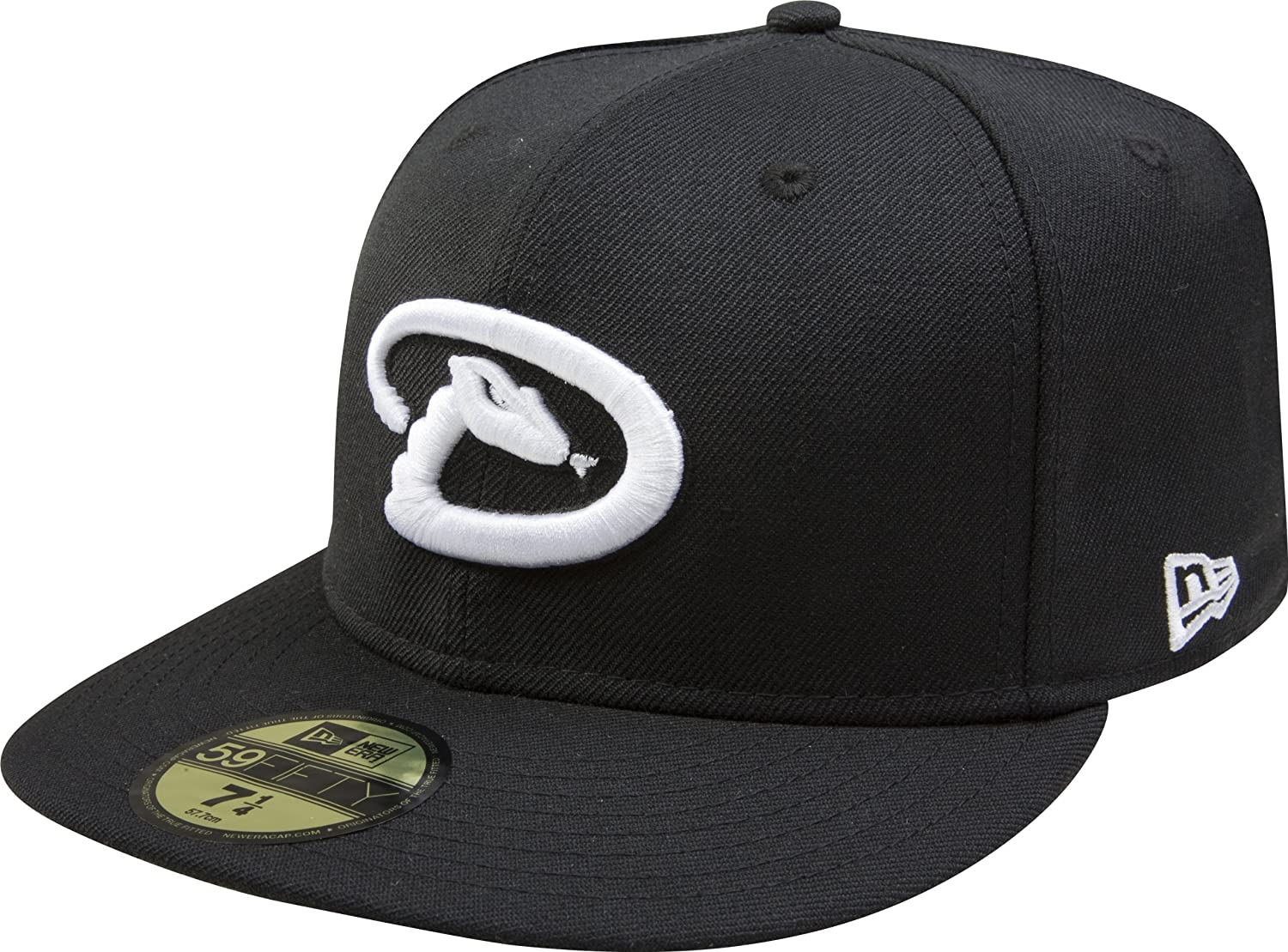 New Era MLB Black with Fitted Popular standard Cap 59FIFTY free shipping White