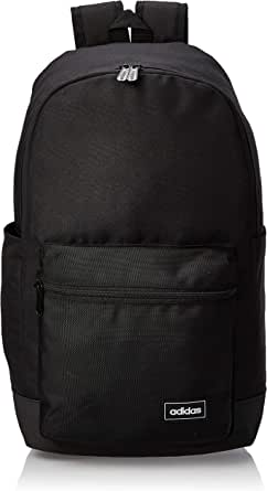 adidas Unisex Classic Medium Backpack, Black/Black/White