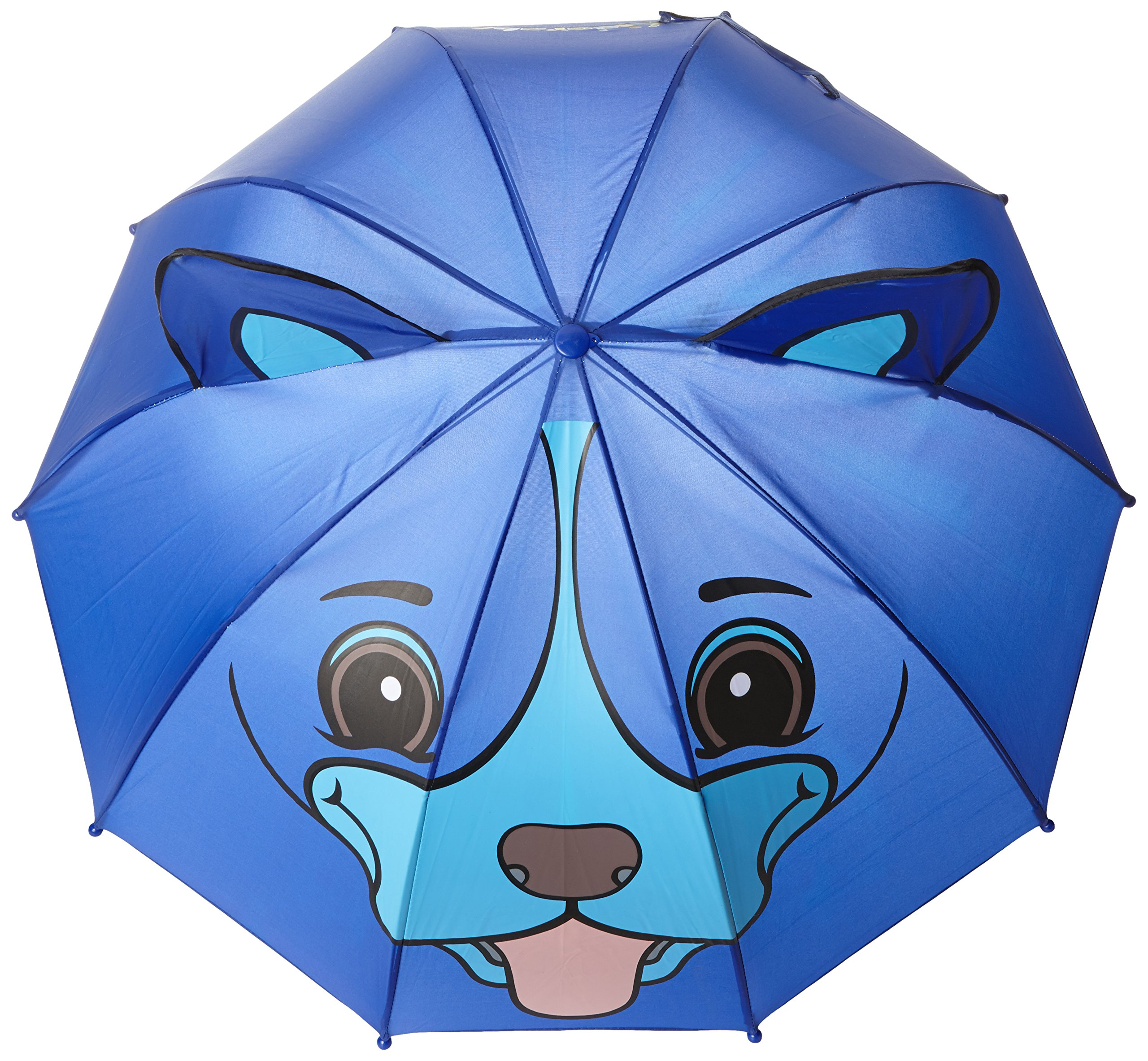 Kidorable Blue Dog Umbrella With Fun Pop-Out Ears, One Size by Kidorable (Image #2)