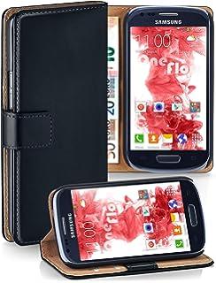 0dccafa446b Bolso OneFlow para funda Samsung Galaxy S3 Mini Cubierta con tarjetero |  Estuche Flip Case Funda