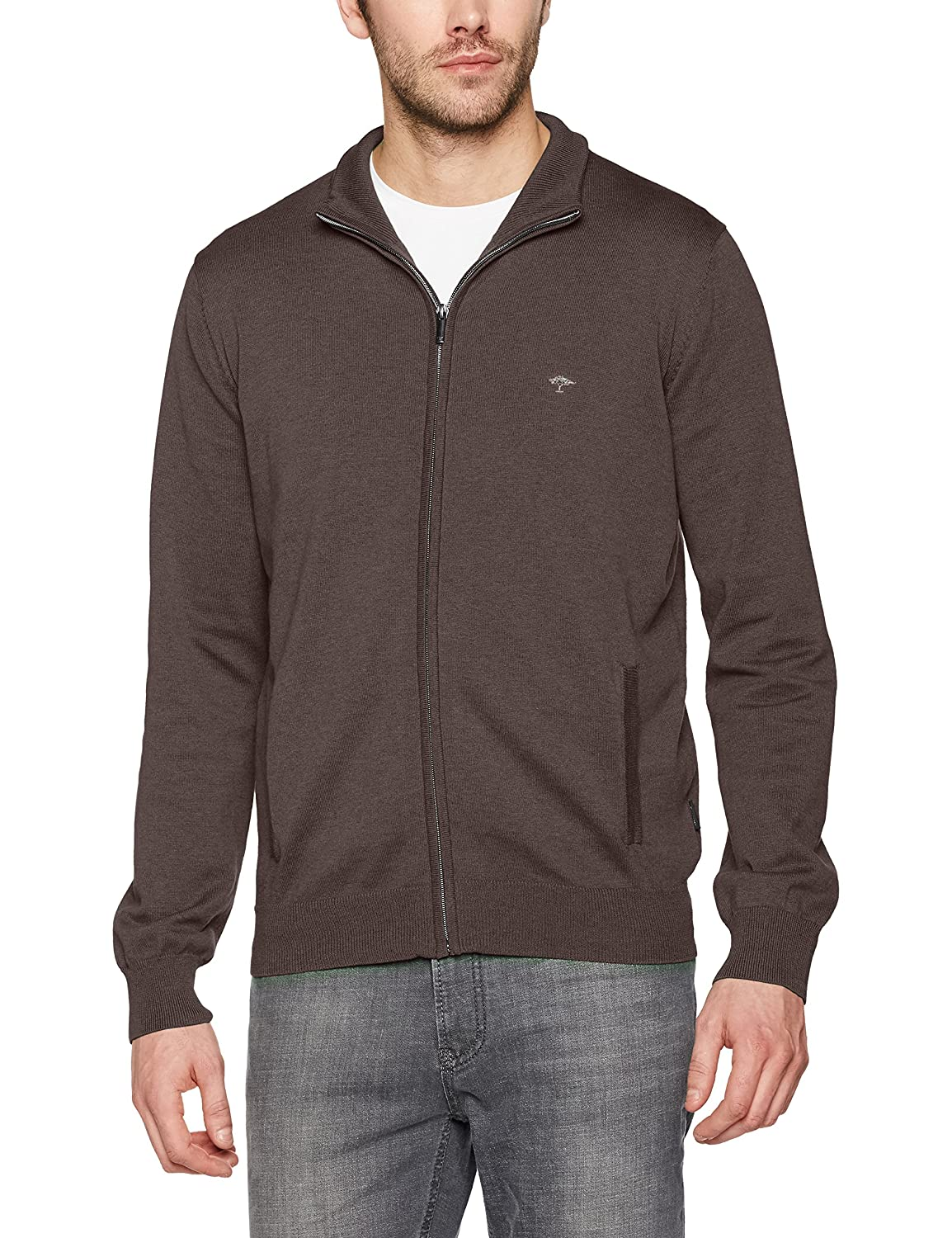 FYNCH-HATTON Herren Strickjacken Cardigan-Zip