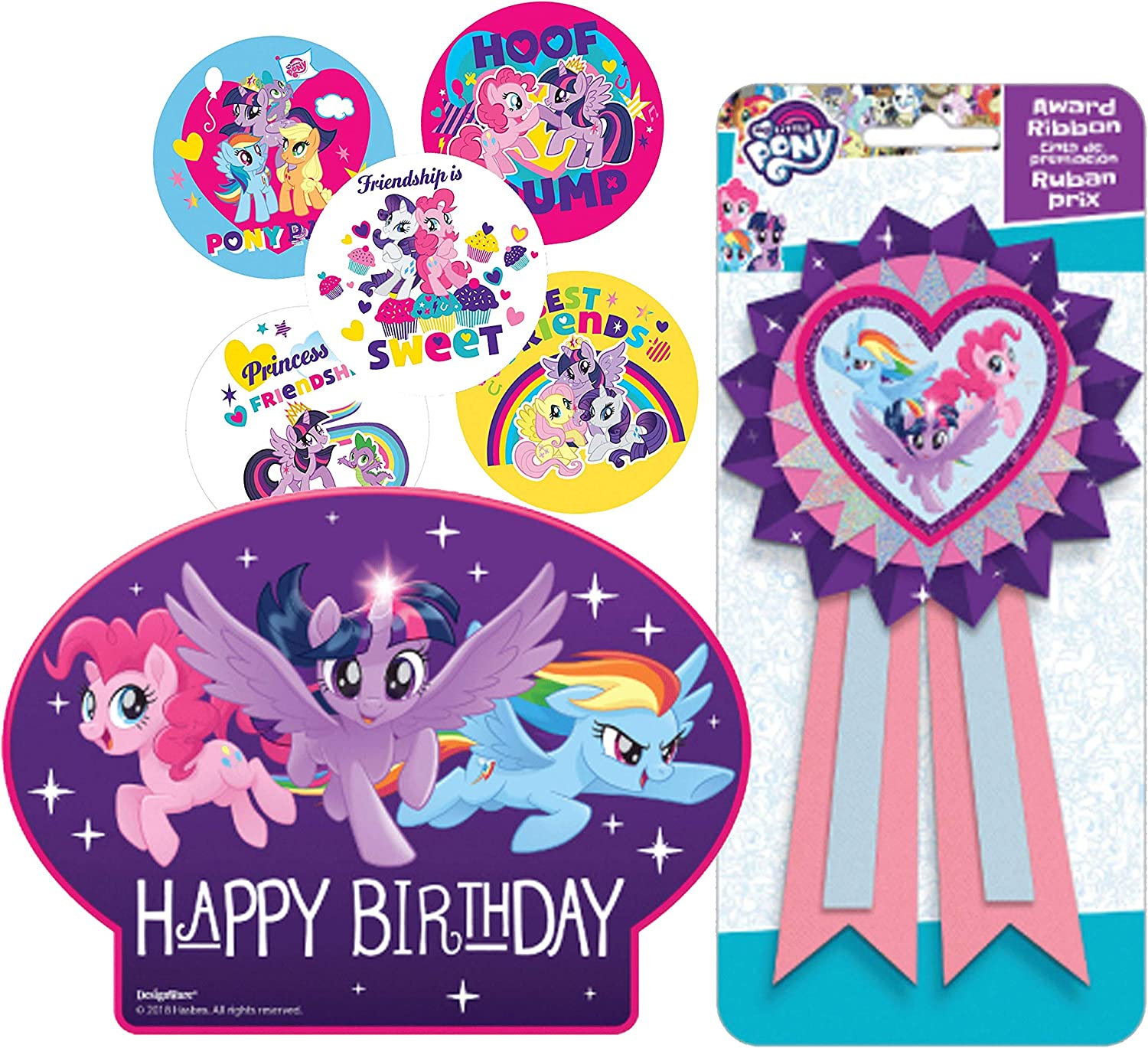 Magnificent Amazon Com My Little Pony Birthday Cake Candle Set Birthday Funny Birthday Cards Online Alyptdamsfinfo