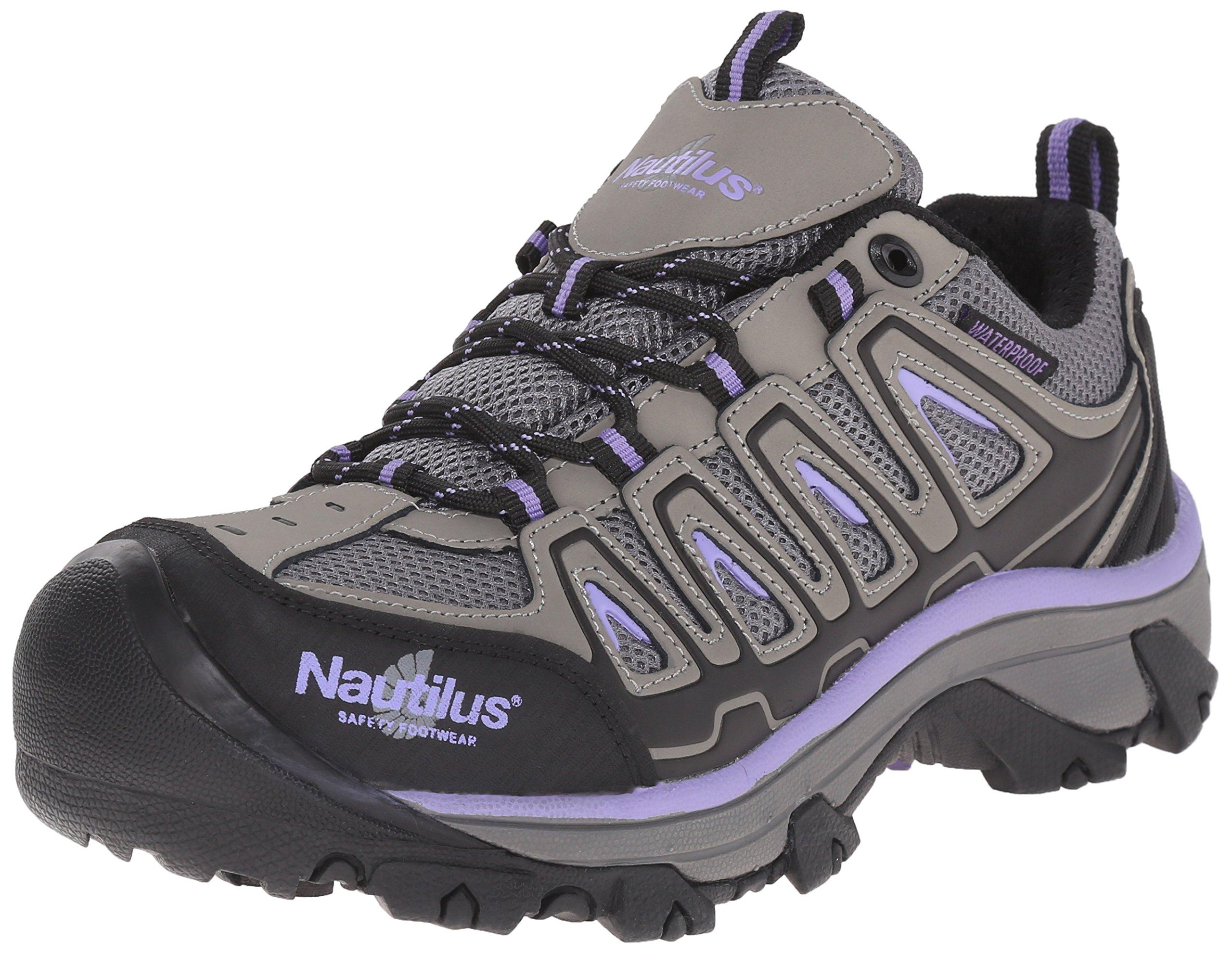 Nautilus Safety Footwear Women's 2258 Work Shoe, Grey, 9 M US