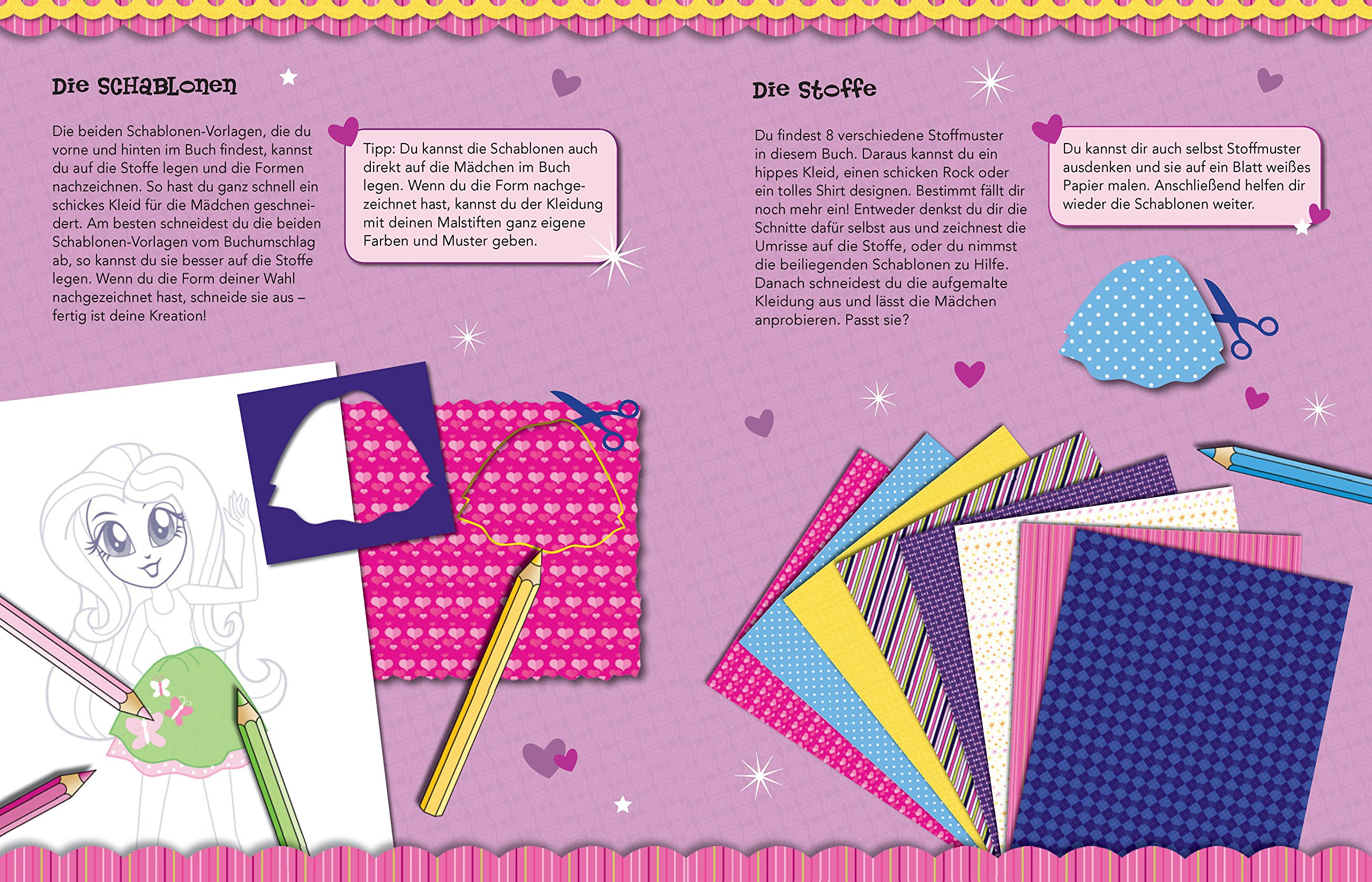 My Little Pony - Equestria Girls Modebuch (lila): 9783849904005 ...