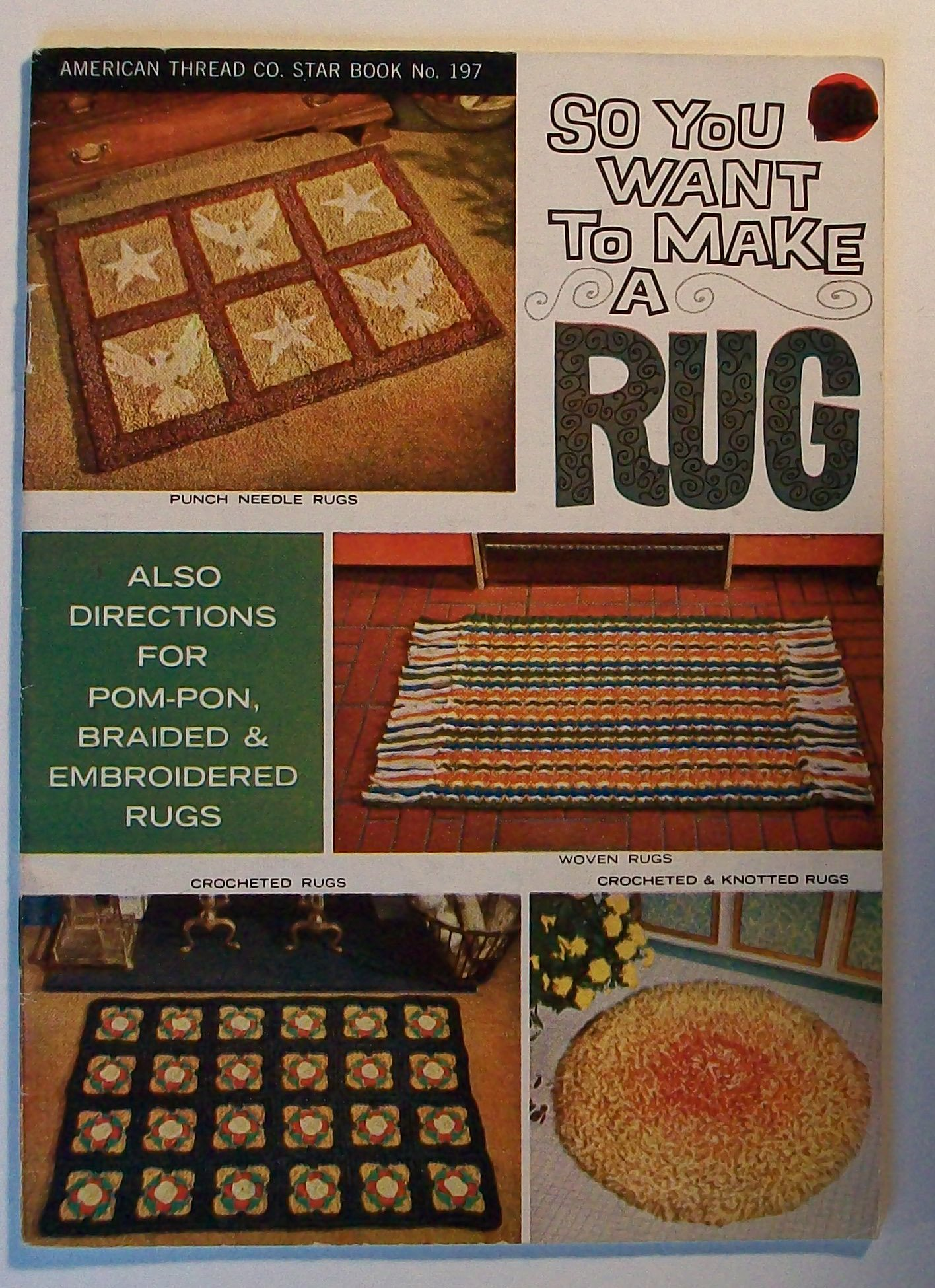So You Want To Make A Rug Craft Book