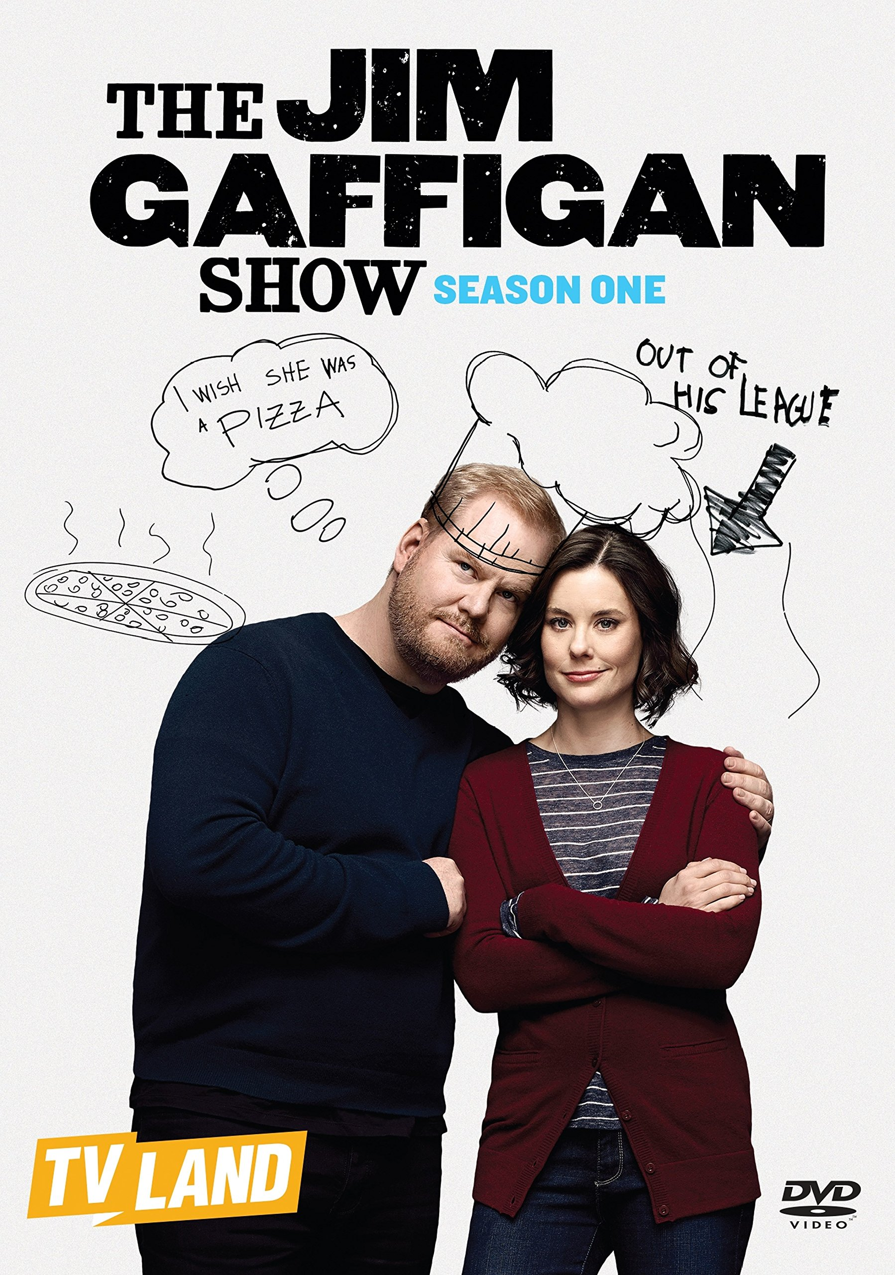 DVD : Jim Gaffigan - The Jim Gaffigan Show: Season One (Widescreen, 2 Pack, Subtitled, AC-3, Dolby)