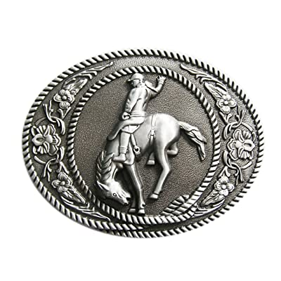 Schnalle123 - Boucle de ceinture - Femme Argenté Silber Taille Unique