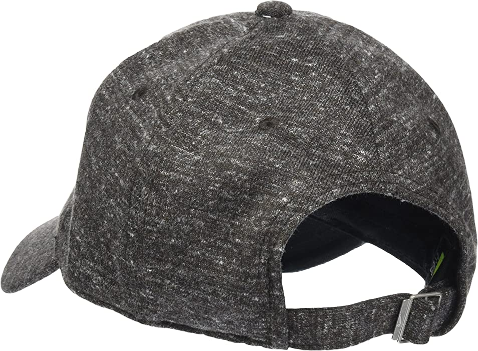 b12c88d78cb Amazon.com  Nike Mens H86 Metal Logo Futura Hat Black Heather Matte ...