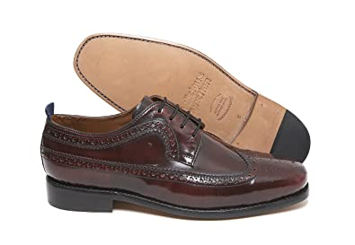 Delicious Junction La Upsetter Rojizo Brogue Por, Color Rojo, Talla 42.5