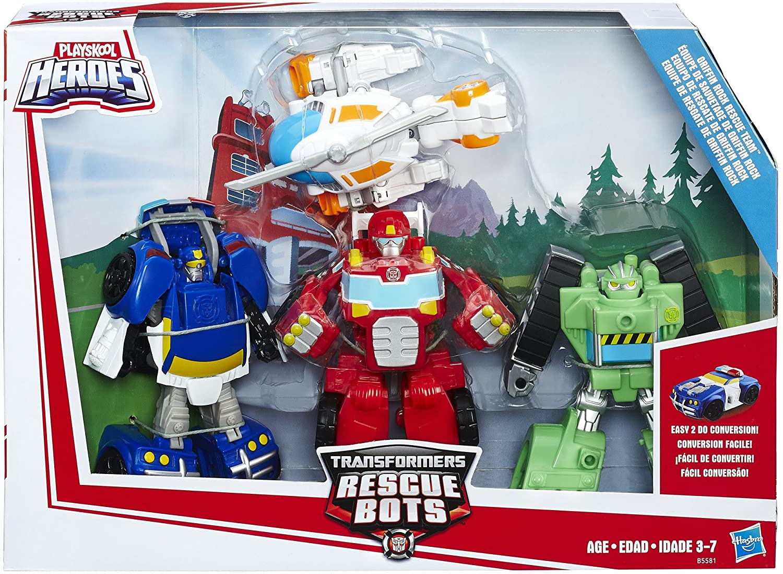 Playskool Heroes Transformers Rescue Bots Review
