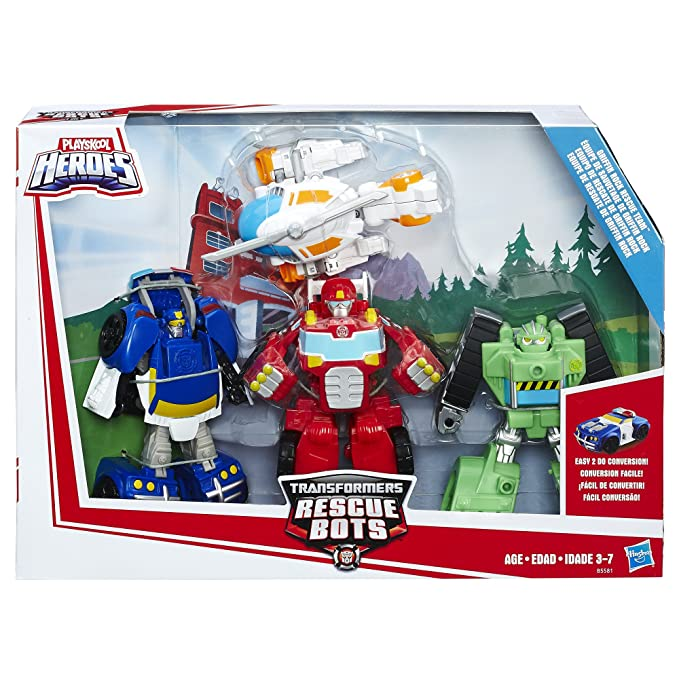 Transformers Rescue Bots Griffin Rock Rescue Team Set by TRA: Amazon.es: Juguetes y juegos